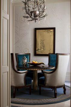 Ave. Montaigne, Paris - Luxury Apartment by Louis Henri