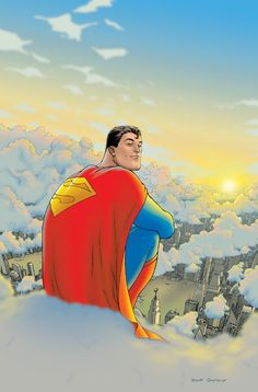 I know I am gonna get alot of crap from this but I am now a fan of Superman, all because of Grant Morrison's run on All Star Superman. It was beautiful.