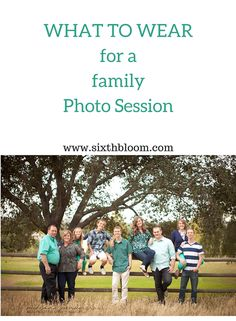 What to Wear for a Family Photo Session, Picture Session, What to wear, Spring Pictures, Summer Pictures