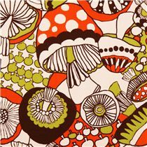 natural mushroom oxford fabric by Cosmo from Japan
