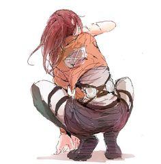 Sasha - Shingeki no Kyojin┋Атака Титанов┋Attack on Titan Ymir, Mikasa, Kuroko, Chibi, Eren, Aot Characters, Fandom, Attack On Titan Fanart, Animes Wallpapers