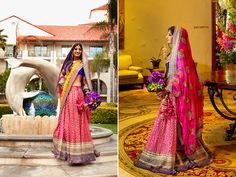 Bright outfit for the Ladies Sangeet? Have you thought about your outfit for that day?