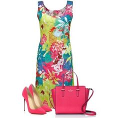 Awwwe so cute.  Heels too tall for work but if I had lower pumps and threw on a cardi this would be cute for work.