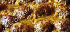 Bestanddele vir frikkadelle: 1 groot ui, fyngekap 30 ml olie 1 groot geelwortel, geskil en grof gerasper 1 kg maalvleis 3 el blatjang mespunt naeltjies 1 el worcestersous 5 ml kerriepoeier 1 tl sou… Braai Recipes, Mince Recipes, Curry Recipes, Cooking Recipes, Mince Meals, Cooking Ideas, Banana Curry, Kos, Mince Dishes