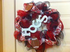 My Razorback wreath #1