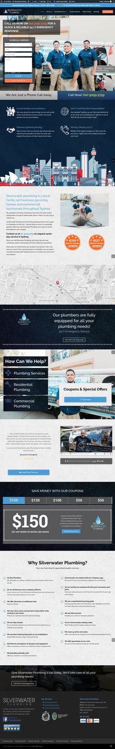 Silverwater Plumbing are one of Sydneys most professional residential plumbing companies. Water Plumbing, Residential Plumbing, Plumbing Companies, Silver Water, Sydney, Projects, Blue Prints, Tile Projects