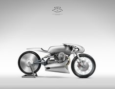 Moto Guzzi Airforce by Death Machines of London. A Moto Guzzi Le Mans MkII built for Giovanni Ravelli and straight out of a Fritz Lang movie.