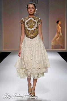 Dozakh by Kartikeya & Isha Wills Lifestyle India Fashion Week 2012 | Cocktail Wear | Bigindianwedding