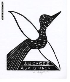 Asa Branca by José Francisco Borges Artist At Work, Printmaking, Folk Art, Indigo, Contemporary Art, Art Gallery, Sculpture, Illustration, Prints