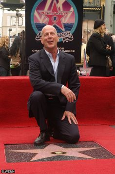 Bruce Willis with Star, justly deserved Emma Heming, Demi Moore, Bruce Willis, Joanne Woodward, Ex Husbands, Hollywood Walk Of Fame, Celebs, Celebrities, My People