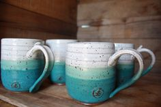 Hey, I found this really awesome Etsy listing at https://www.etsy.com/listing/471715481/coffee-mugs-set-of-4-pottery-mugs-wheel