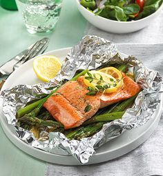 Grilling salmon inside foil makes it incredibly flavorful, juicy and flaky. You are going to love this recipe!