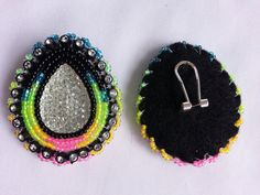 Native American Beaded Earrings on Etsy, $35.00