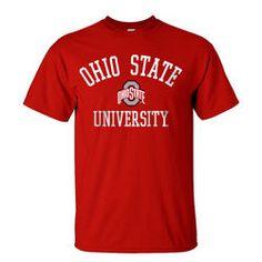Ohio State University Buckeyes T Shirt Red - $14.39