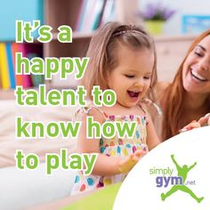 It's a happy talent to know how to play