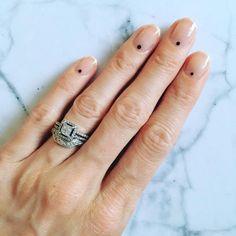 These manis are major inspo. #Manicure #NailPolish #Minimalist #SleekPolish #Nails #NailTrends