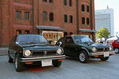 1972 & 1975 Honda Civic