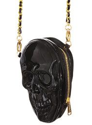 Dark Dimensions Skull Crossbody Bag