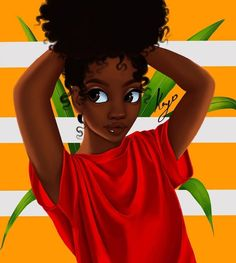 wallpapers black girl \ wallpapers black + wallpapers black and white + wallpapers black aesthetic + wallpapers black dark + wallpapers blackpink + wallpapers black wallpaper + wallpapers black vintage + wallpapers black girl Black Love Art, Black Girl Art, My Black Is Beautiful, Black Girls Rock, Natural Hair Art, Natural Hair Styles, Drawings Of Black Girls, Black Girl Cartoon, Black Art Pictures