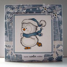 Crafting with Cotnob: Warm Winter Wishes