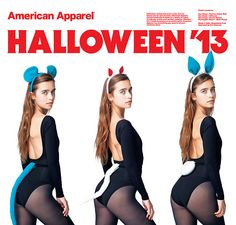 lera in halloween accessories by american apparel for halloween 13 aahalloween