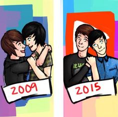 "You know, I feel bad shipping these two. They have said over and over again that Phan is not real, but the phandom wont listen. I (and probably some others) am a gentle shipper of the two, but obviously don't think they are actually dating. The phandom needs to chill because it's putting pressure on Dan and Phil to not say something ""suspicious"" that may lead to Phan shippers going crazy. Obviously they would do something cute together as platonic friends, but not as boyfriends or husbands…"