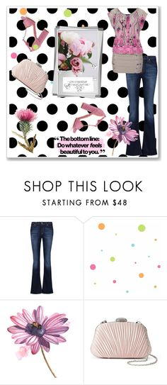 """""""#Girls Just Wanna Have Fun. Girls Night Out Contest"""" by detroitgurlxx ❤ liked on Polyvore featuring 7 For All Mankind, Buffalo LONDON, York Wallcoverings and Gunne Sax By Jessica McClintock"""