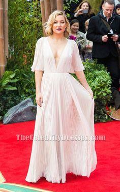 Kate Hudson Deep V-Neck Evening Dress Premiere of 'Kung Fu Panda 3' TCD6571