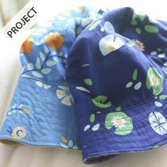 Sewing For Kids Reversible Bucket Hat - Free Pattern - Hat Patterns To Sew, Sewing Patterns Free, Free Pattern, Sewing Projects For Kids, Sewing For Kids, Kids Bucket Hat, Baby Hut, Sewing Kids Clothes, Fabric Purses