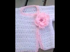 Easy to crochet baby sweaters!  Haylees Hats