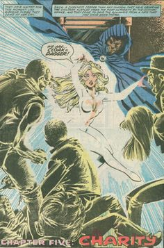 Cloak and Dagger by Rick Leonardi and Terry Austin