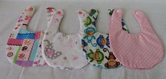"Baby Alive 16""  Lot Of 2 Adorable Cute Handmade BabyDoll Bibs #Unbranded"