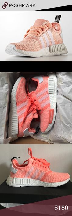 Adidas NMD Runner. Sun Glow Brand new in box, never worn! Rare Sun Glow color, size 8. Beautiful for summer! SOLD OUT everywhere Adidas Shoes Athletic Shoes