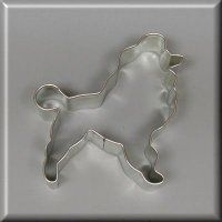"""4"""" Poodle Cookie Cutter"""