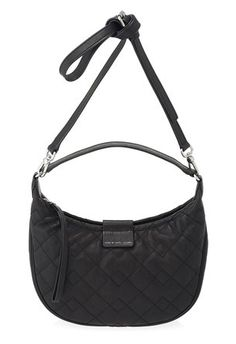Marc by Marc Jacobs Moto Quilted Tiny Banana in Black