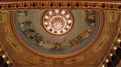 Techo de la sala del Teatro Colón BUENOS AIRES ARGENTINA