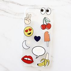 FREE SHIPPING ON ALL U.S ORDERS!  CHECK OUT OUR FAB EMOJI STICKER IPHONE CASE! DURABLE BUT SLIM & PROTECTIVE TOPPED WITH ADORABLE EMOJIS, MAKING IT THE PERF