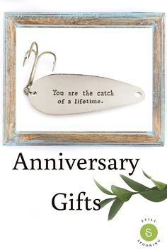 anniversary gifts for him and her. fishing lure for husband and wife. You are the catch of a lifetime. Bday Gifts For Him, Surprise Gifts For Him, Thoughtful Gifts For Him, Valentine Gifts For Husband, Personalized Gifts For Dad, Diy Father's Day Gifts, Unique Gifts For Men, Unique Birthday Gifts, Valentine Day Gifts
