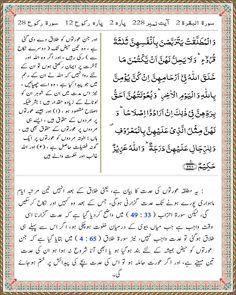 Para 2   Surah Al Baqarah 2   Ayat 228 Tafsir Al Quran, Beautiful Names Of Allah, Words, Horse