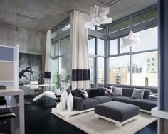 modern living room design by <a style='text-decoration:none;color:#444;' href='htt...