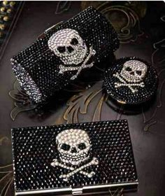 You Can never go wrong with skulls with bling bling