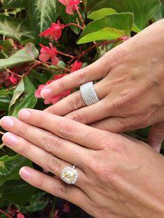 #henridaussi #engagement #ring #wedding #Bridal # #engagementring #whitegold #luxury #fashion #jewelry #diamonds henridaussi.com