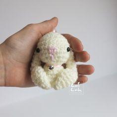 Luiluh Baby Bunny. Sweet as keychain