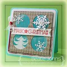 Magic of Christmas by Beate - Cards and Paper Crafts at Splitcoaststampers