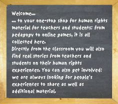 UNRIC Human Rights Education