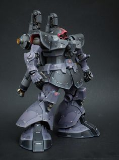 """Custom Build: MG Rick Dom Custom """"Thunderbolt ver. Gundam Toys, Gundam Art, Gundam Tutorial, Big Robots, Gundam Wallpapers, Gundam Custom Build, Sci Fi Models, Msv, Gunpla Custom"""