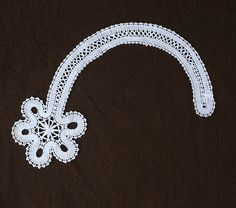 A decoration Russian bobbin lace flower by everlacing on Etsy