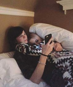 Chandler Riggs with his girlfriend Brianna Maphis. Very sweet couple