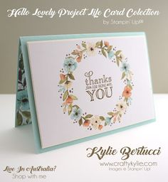 Kylie Bertucci - Project Life® by Stampin' Up!® Hello Lovely Kit. Click on the picture to see more