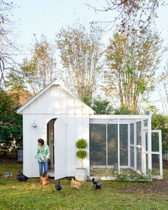 This will be my garden shed and coop.  I will be so happy for years and years...